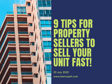 9 Tips for Property Sellers to sell your unit fast!