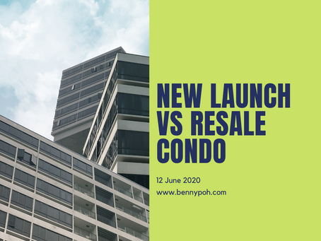 New Launch Vs Resale Condo