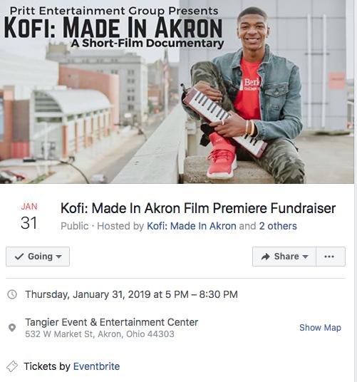 MADE IN AKRON - THE KOFI BOAKYE STORY