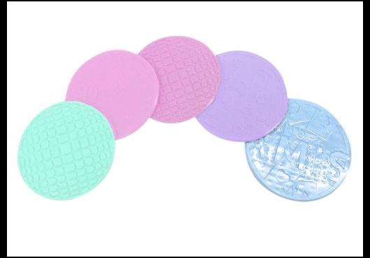 Posavaso silicona respndo color pastel Cliker