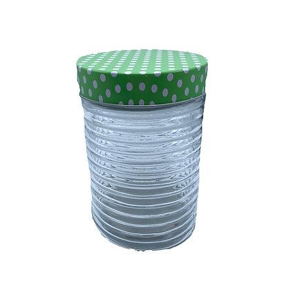 Tarro vidrio con relieve 1350cc The Kitchen