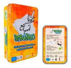 Juego de mesa Dibujalo en caja de lata Bontus