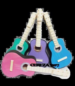Guitarra de madera chica 40cm