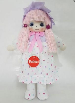Muñeca de trapo Mariel 46cm Dulcitas art 209