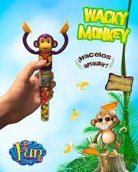 Pastillero con pastillas Wacky Monkey Fun