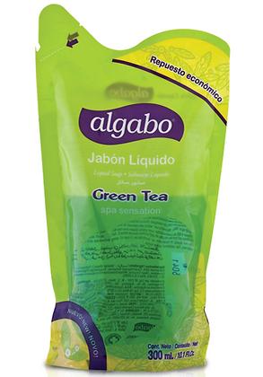 Repuesto jabon liquido 300ml green tea Algabo art 6040887