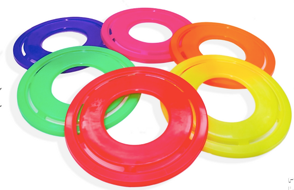 Fresbee fluo Cliker