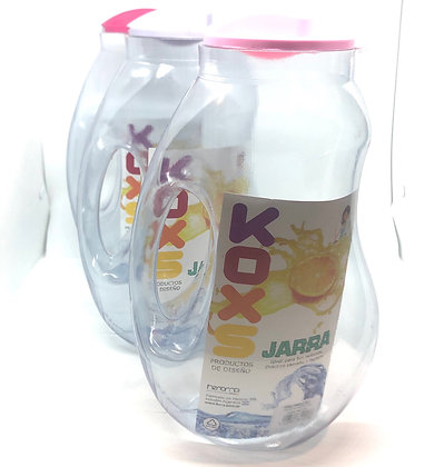 Jarra plástica 2 litros Fresh color pastel Koxs art 039