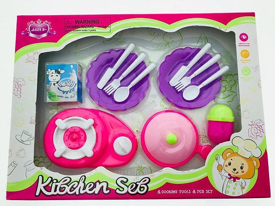 Conjunto de cocina en caja 31x23x4cm Sebigus art 61389