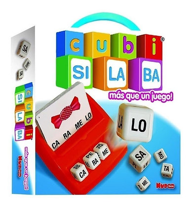 Cubi Silabas Nupro caja 23,5x23,5x5cm