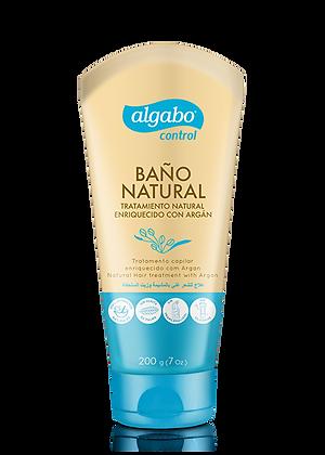 Baño de crema natural arganza 200g Algabo art 6070753