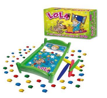 Juego a pilas Lola  y las pulgas(pulguitas) Totogames art 2039