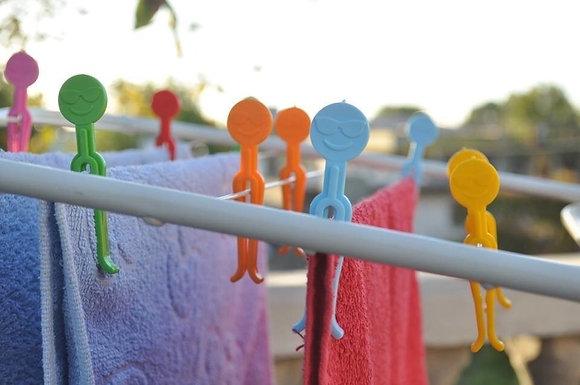 Broche carita colores  pastel Cliker