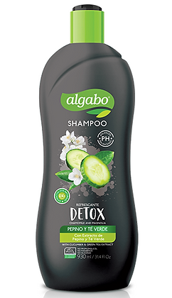 Shampoo 930ml pepino y te Algabo art 6043920