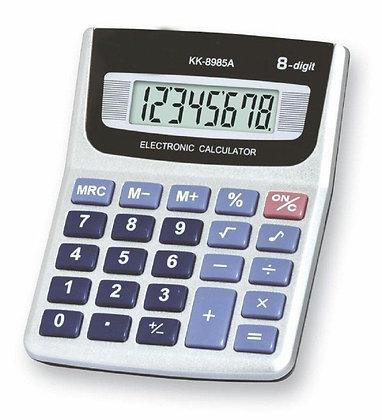 Calculadora 8 digitos 9,5x12cm kk-8985A TR