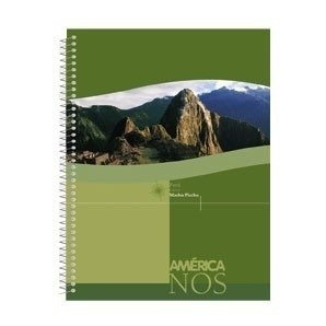 Cuaderno universitario América cuadriculado