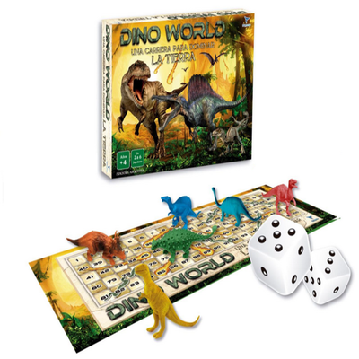 Juego de recorrido Dino world de lujo Totogames art jm2047