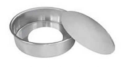 Tortera alta desmontable aluminio Almandoz n26 3,7lts altura 8cm