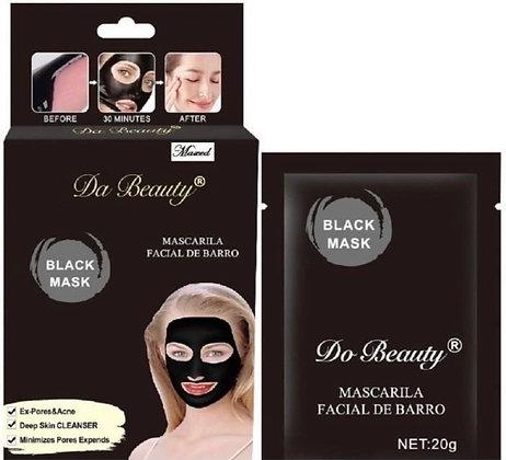 Máscara facial de barro 20grs quita puntos negros TR CO-3823