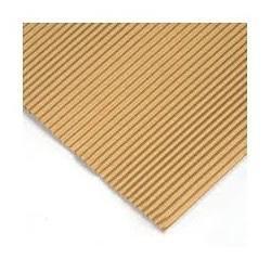 Carton corrugado 50x70cm color madera