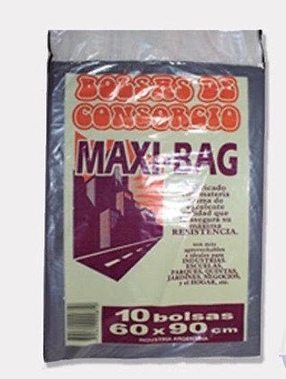 Bolsas de residuos x 10 unidades 60x90cm