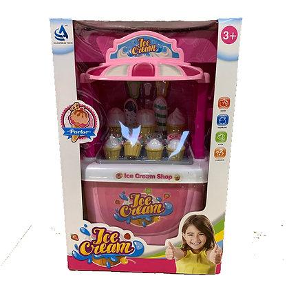 Mega set heladeria con accesorios Sebigus art 50685