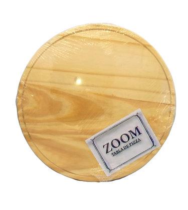 Pizzera madera 35x2cm Zoom