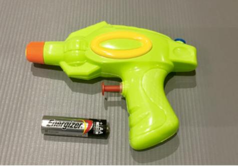 Pistola de agua 15cm Verdecchia art 67