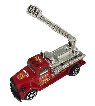 Camion bombero a friccion importado 22x10cm Athand art 101