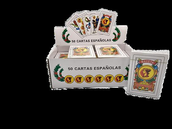 Naipes espanoles x 50 cartas