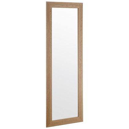 Espejo madera 50x80cm moldura 6,5cm Maderart art 40472