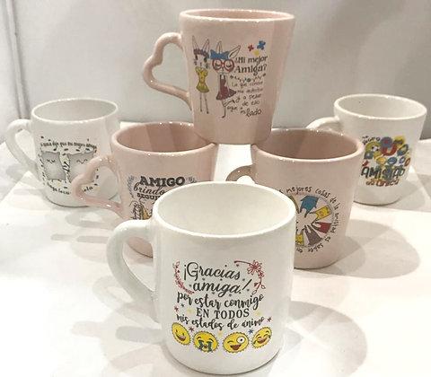 Jarro de ceramica Dia Del Amigo