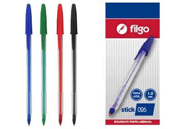 Copia de Birome Filgo Stick 1mm