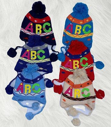 Gorro infantil con orejeras ABC TR art 699