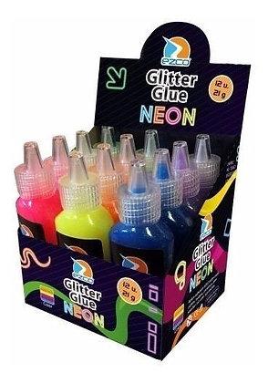 Adhesivo glitter neon 21g Ezco