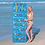Thumbnail: Colchoneta apoya vaso 188x71cm Bestway art 43014