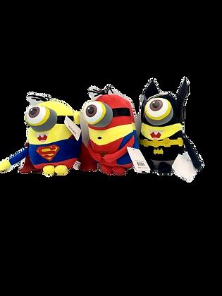 Peluche con sonido Minion super heroes 22cm