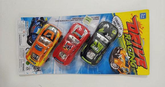 Autos a fricción x3 Sebigus art. 50085