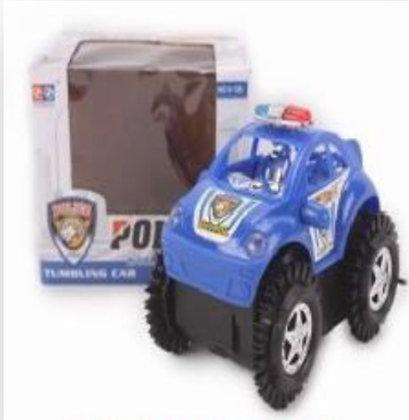 Auto loco policia con luz y sonido Athand art v-126