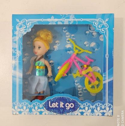 Mini muñeca con accesorios Sebigus art.50510