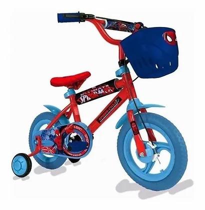 Bicicleta Spiderman original rod 12 Kuma