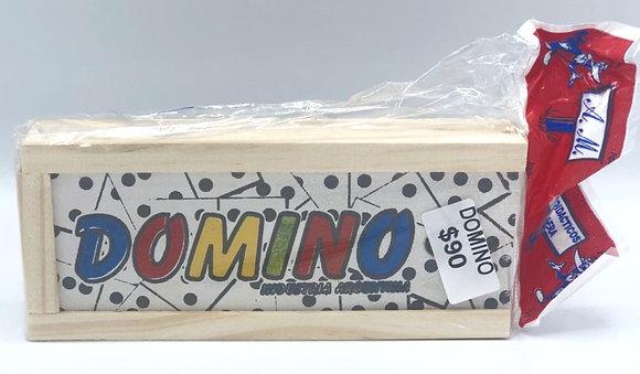 Domino de madera 18x8cm
