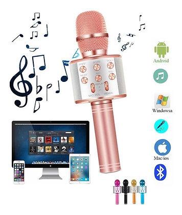 Micrófono karaoke Bluetooth art ws858 TR