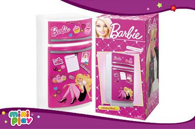Heladera barbie 60cm original c/accesorios Miniplay