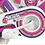 Thumbnail: Bicicleta rod 12 Pink Stark art 6055