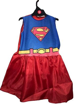 Disfraz de tela SuperGirls