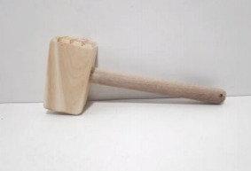 Bate bife madera 25cm Aries