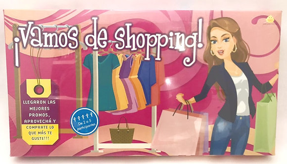 Juego de recorrido Vamos de Shopping YUYU
