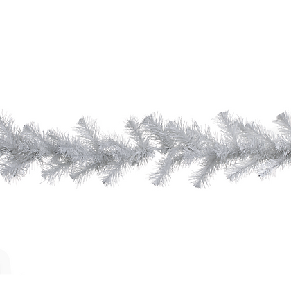 Boa muérdago 180x15cm blanca Naviluz