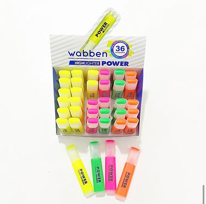 Resaltador Power Wabben art 9009
